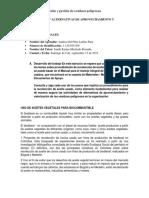 Trabajo Practico No 3. Alternativas de Aprovechamiento y Valorizacion