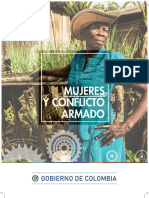 Mujeres y conflicto armado