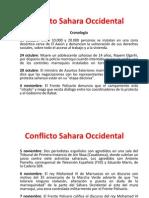 Conflicto Sahara Occidental