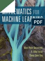 Mathematics for Ml Book