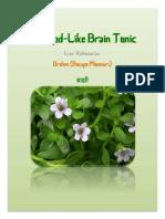 Brahmi the God-Like Brain Tonic