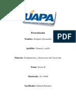 Tarea II de Fundamentos y Estructura