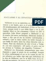 Balakian. Mallarmé y El Cenáculo Simbolista