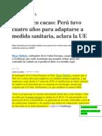 Ejemplo_Análisis noticias_ principios de economía_cadmio en cacao