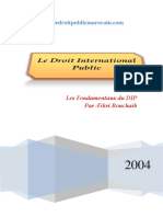 Le Droit International Public