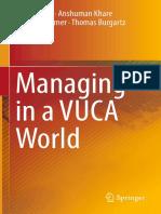 2016_Book_Managing in a VUCA World MSV
