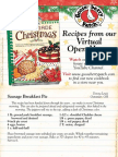Homemade Christmas Open House Recipes
