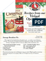 Homemade Christmas Open House Recipes