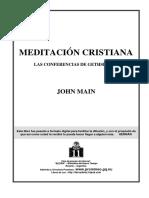 Main, John - Meditación Cristiana