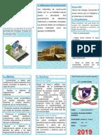 TRIPTICO Casa Ecologica