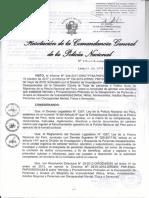 Directiva de Normas y Procedimientos de Personas Desaparecidas