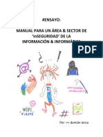 Manual Para Una Área de Seguridad de La Información
