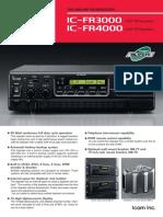 IC-FR3000 FR4000 Series Brochure