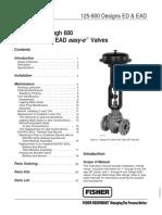 ED series Control valve Fisher