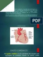 Gasto Cardiaco (Fisio)