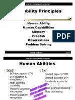 Ability principles