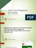 registrasi mobile