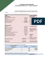 Contabilidad Agropecuaria Examen II Parcial