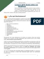 Guía de Woocomerce 2019parte01