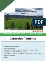 Pressntación del SIGAM para el Municipio de Puerto Salgar