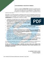 Política de Prevención de Riesgos Laborales Rev. 8 Mayo 2019