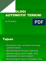 TEKNOLOGI AUTOMOTIF TERKINI