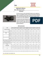 BMR Orbit Hydraulic Motor With Spool Valve
