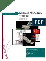 METALES ALCALINOS TERREOS