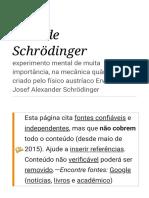 Gato de Schrödinger – Wikipédia, A Enciclopédia Livre