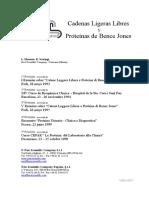 Cadenas Ligeras Libres y Proteínas de Bence Jones