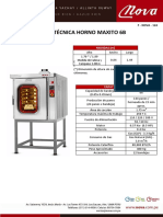 NOVA - FT Horno Maxito 6B