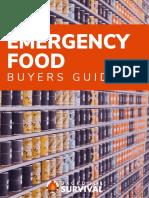 Emergency Food Buyers Guide