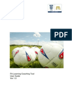 Fa Coaching Tool UserGuide