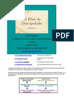 El Plan de Discipulado