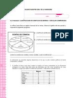 taller de  diagrama circular y de barra