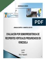Evalacion sismorresistencia recipientes