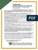 NEOCONSTITUCIONALISMO ~ LA CONSTITUCIONALIZACIÓN DEL DERECHO