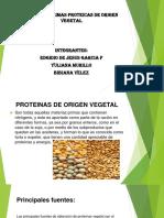 Diapositiva Materia Prima Proteicas de Origen Vegetal