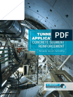Tunnelling Applications Concrete Segment Reinforcement