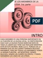 DEBERES DE LOS MIEMBROS DE LA IGLESIA.pptx