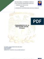FUNDAMENTOS DE LA PSICOLOGÍA SOCIAL