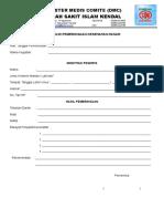 Formulir Pemeriksaan Dasar