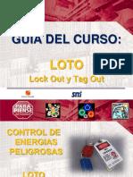 Guía Del Curso - Lock Out y Tag Out (LOTO) - 2013