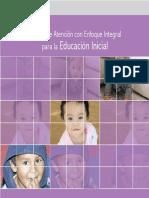 Medelo de atención para educación inicial