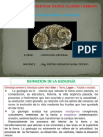 GEOLOGIA  - INTRODUCCION