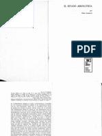 01. Teóricos- ANDERSON, Perry- El Estado Absolutista. Pags 9-54 195-237