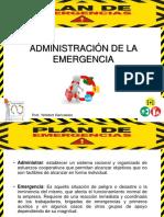 Administración de La Emergencia