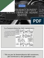 Contradicciones de Adam Smith