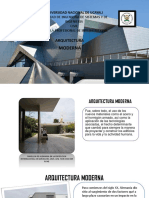 Arquitectra Moderna y Posmoderna