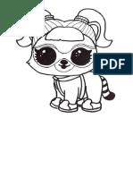 Desenho Para Colorir Lol Surprise Bonecas _ Pet 16